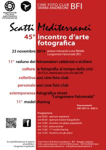 scatti mediterranei locandina 2014